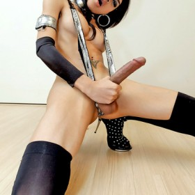 ladyboy mint big cock